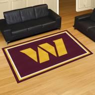 Washington Redskins 5' x 8' Area Rug