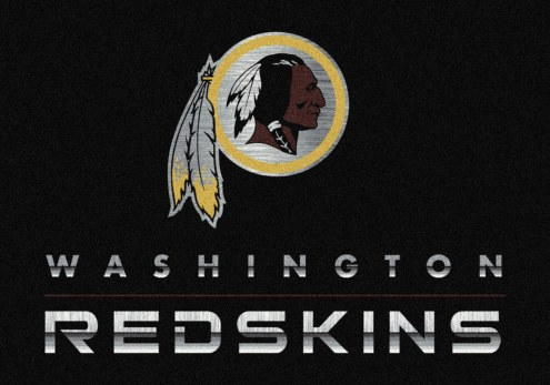 Washington Redskins 6' x 8' NFL Chrome Area Rug