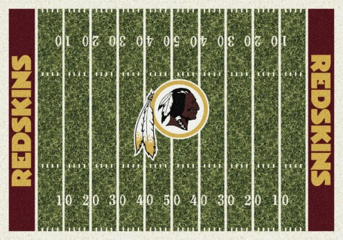 Washington Redskins 6' x 8' NFL Home Field Area Rug