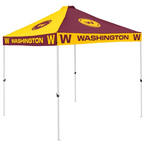Washington Football Team 9' x 9' Checkerboard Tailgate Canopy Tent