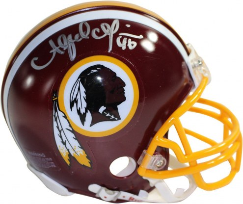Washington Redskins Alfred Morris Signed Mini Football Helmet