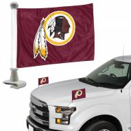 Washington Redskins Ambassador Hood & Trunk Car Flag