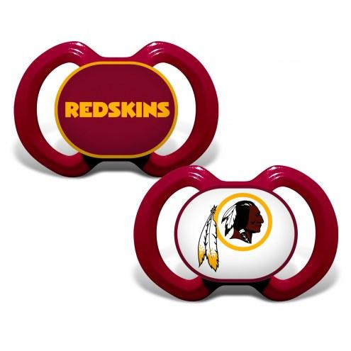 Washington Redskins Baby Pacifier 2-Pack