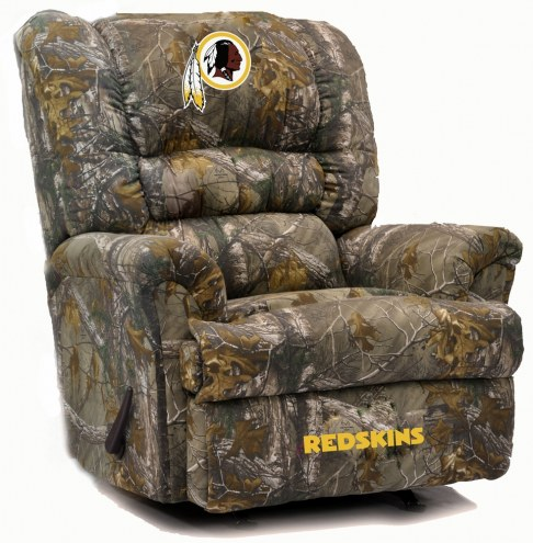 Washington Redskins Big Daddy Camo Recliner