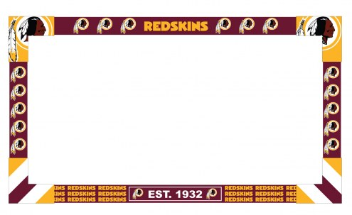 Washington Redskins Big Game Monitor Frame