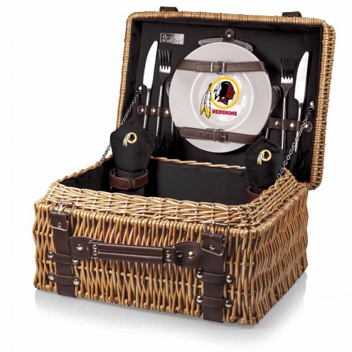 Washington Redskins Black Champion Picnic Basket