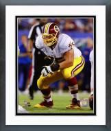 Washington Redskins Brandon Scherff Action Framed Photo