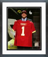Washington Redskins Brandon Scherff NFL Draft #5 Pick Framed Photo