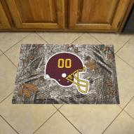 Washington Redskins Camo Scraper Door Mat