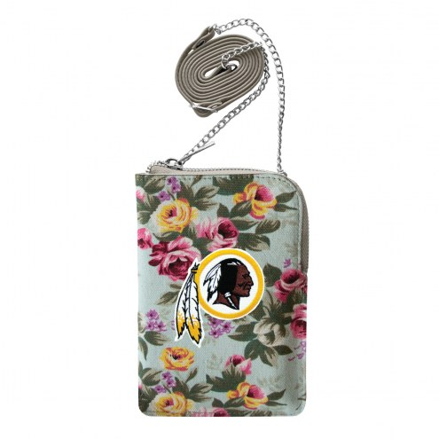 Washington Redskins Canvas Floral Smart Purse
