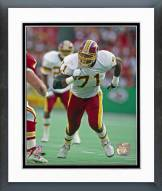 Washington Redskins Charles Mann Action Framed Photo