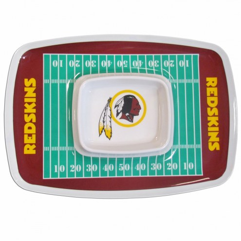 Washington Redskins Chip & Dip Tray