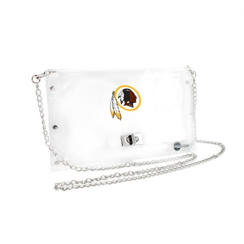 Washington Redskins Clear Envelope Purse