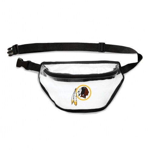 Washington Redskins Clear Fanny Pack