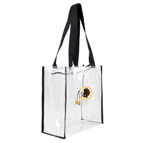 Washington Redskins Clear Square Stadium Tote