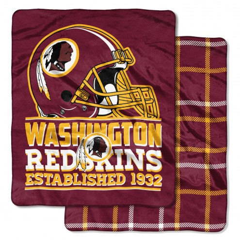 Washington Redskins Cloud Throw Blanket
