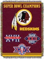 Washington Redskins Commemorative Throw Blanket