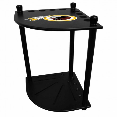 Washington Redskins Corner Pool Cue Rack