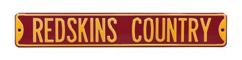 Washington Redskins Country Street Sign