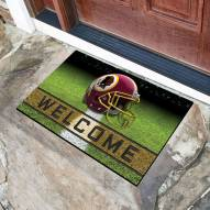 Washington Redskins Crumb Rubber Door Mat
