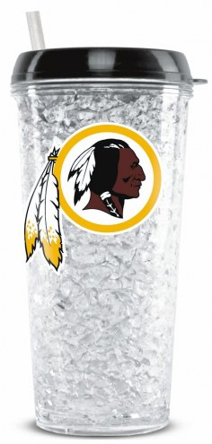 Washington Redskins Crystal Freezer Tumbler