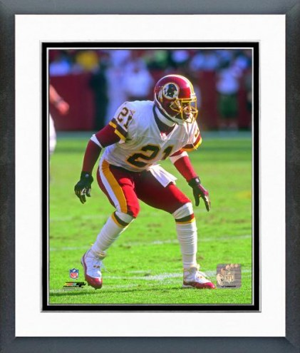 Washington Redskins Deion Sanders 2000 Action Framed Photo