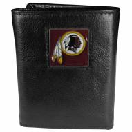 Washington Redskins Deluxe Leather Tri-fold Wallet in Gift Box