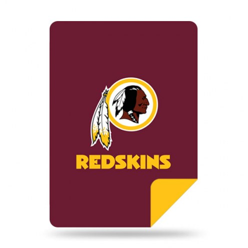 Washington Redskins Denali Sliver Knit Throw Blanket