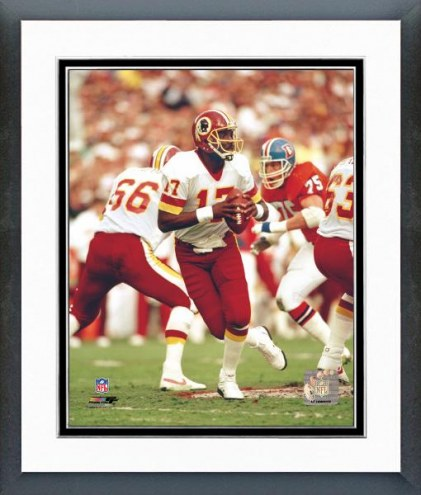 Washington Redskins Doug Williams Action Framed Photo