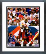 Washington Redskins Doug Williams Super Bowl XXII Action Framed Photo