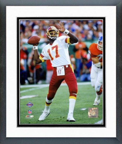 Washington Redskins Doug Williams Super Bowl XXII Framed Photo