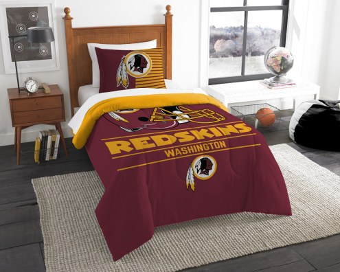 Washington Redskins Draft Twin Comforter Set