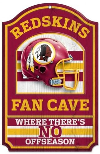 Washington Redskins Fan Cave Wood Sign