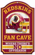 Washington Redskins Fan Cave Wood Sign