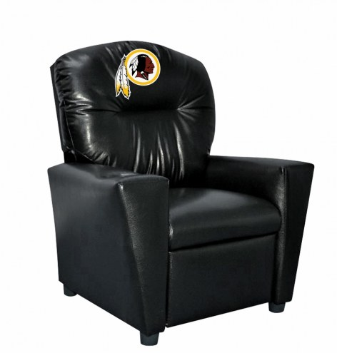 Washington Redskins Faux Leather Kid's Recliner
