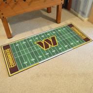 Washington Redskins Football Field Runner Rug