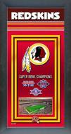 Washington Redskins Framed Championship Print