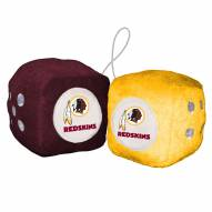 Washington Redskins Fuzzy Dice