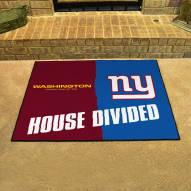 Washington Redskins/New York Giants House Divided Mat