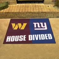Washington Redskins/New York Giants House Divided Mat
