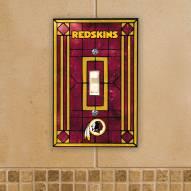 Washington Redskins Glass Single Light Switch Plate Cover