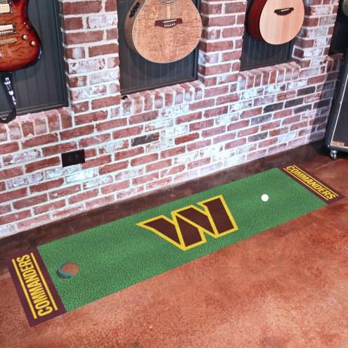 Washington Redskins Golf Putting Green Mat