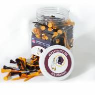 Washington Redskins 175 Golf Tee Jar