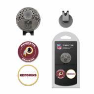 Washington Redskins Hat Clip & Marker Set