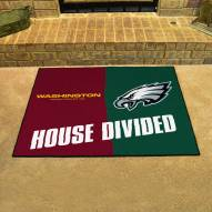 Washington Redskins/Philadelphia Eagles House Divided Mat