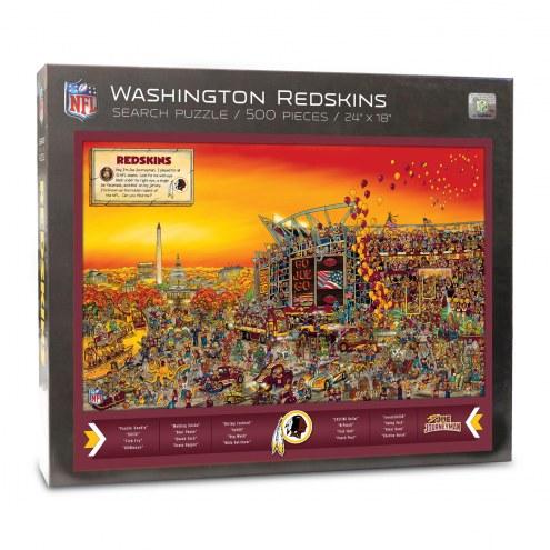 Washington Redskins Joe Journeyman Puzzle