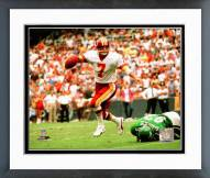Washington Redskins Joe Theismann 1985 Action Framed Photo