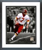 Washington Redskins Joe Theismann Spotlight Action Framed Photo