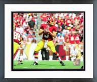 Washington Redskins Kirk Cousins Action Framed Photo