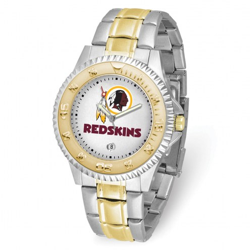 Washington Redskins Competitor Two-Tone Men's Watch